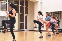 Crazy Cardio Workouts. / From Rowing Essentials to Zumba Step to Aqua Yoga, our classes are sure to take your cardio workout from boring to crazy fun!