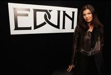 EDUN - Ali Hewson / instagram.com/edun/ EDUN is a global fashion brand based in New York.  In respect of its mission to source production and encourage trade in Africa, EDUN mixes its modern designer vision with the richness and positivity of this fast-growing continent.... Founded by Ali Hewson and Bono in 2005, LVMH invested in EDUN in 2009.  Danielle Sherman was named Creative Director in April 2013. edun.com/