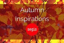 Autumn inspirations | Segis / Looking for something special? Here is where colours and shapes meet autumn. Enjoy our collection and make you space more colourful.