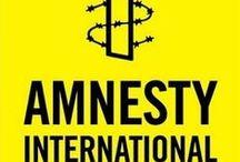 AMNESTY INTERNATIONAL / Créée en 1961 par Peter Benenson, Amnesty International est un mouvement mondial et indépendant rassemblant des personnes qui œuvrent pour le respect, la défense et la promotion des droits humains.