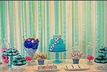 Festa cavalo marinho / Festa cavalo marinho. Festa fundo do mar. Tiffany e rosa.