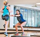 Fit Friend Workouts. / Grab a friend and try our favorite partner workouts!