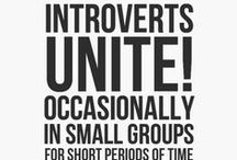 Introvert Favorites! / Quiet insights that I hope you'll like too!