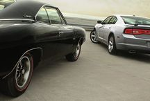 Modern vs. Classic / #mopar #dodge #charger #muscle #car #gm #ford