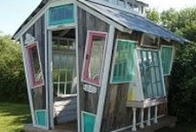 Amazing garden offices and rooms / Quirky, cosy or just plain stunning - beautiful and amazing garden lodges/cabins/studios from around the world.