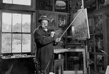Famous garden studios / The garden working rooms of the famous - writing huts, painting studios, plotting sheds.