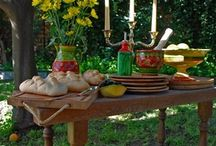 Other Andalusian Pottery / Handmade and hand painted pottery from Andalucia Spain.