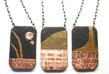 Etsy shop / Handmade jewelry made from felt, wood & other natural materials