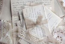 Books, Love Letters and Old Lace