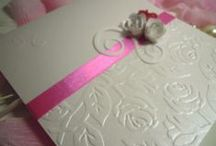 Partecipazioni per Matrimonio / Romantic Roses Creazioni  by Staff Blanche Experience Weddings