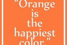 Couleur - Orange
