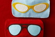 See To It / See To It Yourself with these fun DIY projects for eyewear! DIY glasses and DIY glasses crafts!