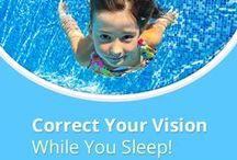 sleepSEE: overnight vision correction (aka: orthokeratology, ortho-k, crt, gentle vision shaping) / sleepSEE, a non-surgical option for vision correction #orthokeratology #orthoK  An alternative to LASIK!