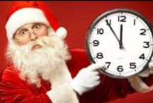 He Sees You When You're Sleeping / Christmas glasses and frames! Santa in spectacles, what could be better?