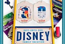 Disney Countdown / Follow this board for different themed numbers to create your own DIY #DaysTillDisney Countdown Calendar! Click any pin for full instructions on the craft!