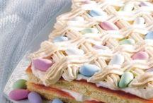 Pääsiäinen. / Pääsiäisen ruokia ja kattauksia.