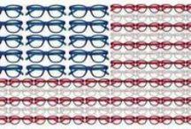 Eagle EYES / 4th of July sunglasses, american flag sunglasses, american flag glasses, red, white, blue, USA glasses, Patriotic glasses, american frames, military eye care, military glasses, america glasses, american glasses, patriotic sunglasses