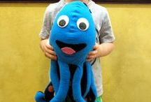 SEE-more! / At Eye Medics Optometry, we help children SEE more! Our mascot SEEmore the Octopus loves to help too!