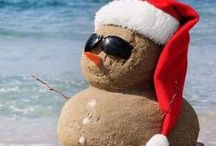 Christmas on the Beach / I'm dreaming of a white Christmas...sugar white sands on the beach, that is!