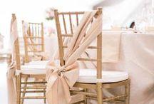 Chiavari Chairs / inspiration for Chiavari chair decoration