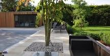 Studios in Gardens / Garden studios, lodges and offices in landscaped gardens and surroundings.