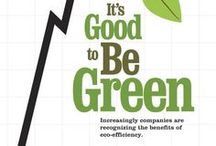 Green & Clean / Helping our environment one pin at a time.