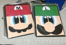 Fiesta de Mario Bros / Unas ideas para una fiesta de Mario Bros =)