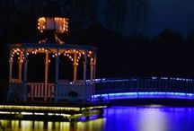 Lakeside Cottage Night time  / Bed and Breakfast Dandenong Ranges www.lakesidecottage.com.au