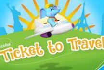 Ticket to Travel / Bubbles is constantly on the move! Watch as Bubbles travels the globe!
