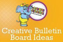 Creative Bulletin Board Ideas / Our TLE teachers are so creative with their classroom décor!