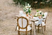 Wedding Decor / Details details details. Wedding centrepieces, table plans, chair garlands, candy bars.., the whole works