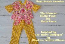 Judy and Katie Fancy Pants Pattern / by scientific seamstress