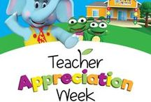 Teacher Appreciation Week at TLE / May 2 - 6 is Teacher Appreciation Week! Join us in thanking teachers for their many wonderful contributions and positive impact that they have on the lives of children everywhere!