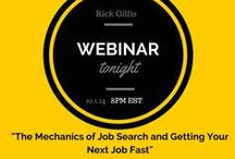 Job Search Optimized / Best practices for job search. How to find the job you want. How to be found for the job you want.