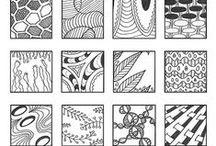 Текстуры, рисовка, узоры