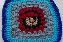 MY GRANNY SQUARES (made by me)  :) / Lovely, simple, easy to make.. and oh, such fun