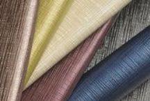 Faux Leather Upholstery Fabrics / A selection of faux leather upholstery fabrics created by The Mitchell Group.