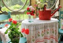flowers and outdoor spaces
