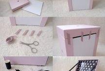cartonnage ,pliage papier / by MARIESTELLE Marie