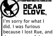 Hunger games letters