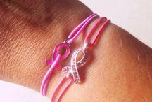 Awareness bracelets / One Pink Jewel collection consists of 4 solidarity bracelets, from the sale of each bracelet we will allocate 1€ to the fight against Breast Cancer