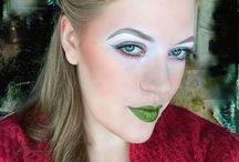 Makeup by the Green Girl / Makeup portraits. Follow me on instagram for more pictures  @The.Green.Girl