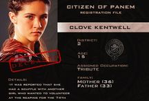 Citizen of panem files / Hunger games characters files with CLOVE