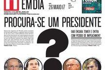 Capas do Jornal [2017] / Capas do Jornal Hoje em Dia desde o começo do ano de 2017