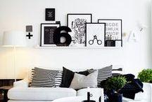 I N T E R I O R S + D E C O R / mid century modern goodness rad DIY home design / by Mary Wyar