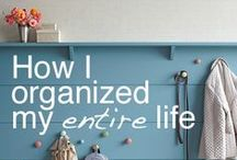 Organization Schedules / Home Ownership / Tips on how to plan, clean and organize aspects of a house / by Ana Tanase