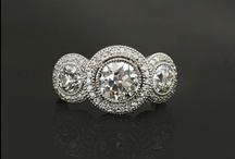 Custom Diamond Rings / Custom Diamond Rings for every finger and every occasion.