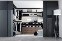 CLOSETS / Decorative lighting in a closet creates a professionally finished look while serving a necessary function - you can't get dressed in the dark! / by Littman Bros