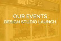 OUR EVENTS - Design Studio Launch