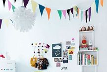kid interiors & kid-friendly spaces / collection of ideas for babies & toddler living spaces - playrooms, nurseries, bedrooms, corners